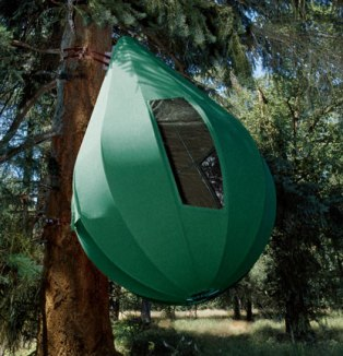 Birdibus wrote I found these unusual tents and wanted to share & tree tents and cot tent - Itinerant Air-Cooled