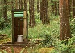 camping bathroom