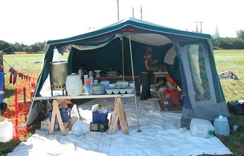 campsite kitchen