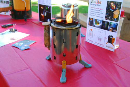 Bio Camp Stove Or A Light Way Of Cooking Green In The Outdoors