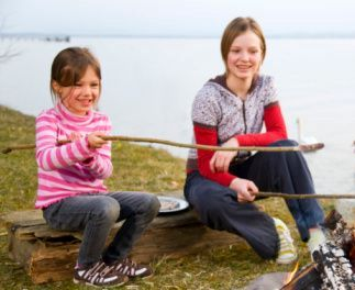 children camping trips