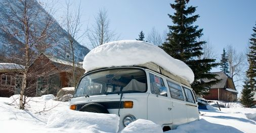 winter rv camping