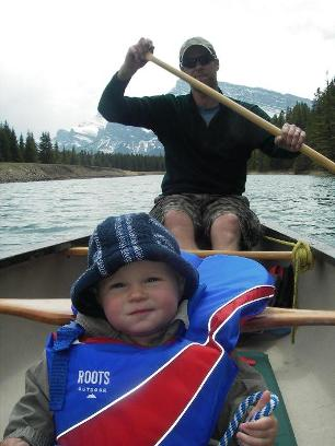 Canoeing in Camping