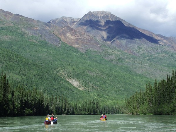 The Nahanni River, North West Territories