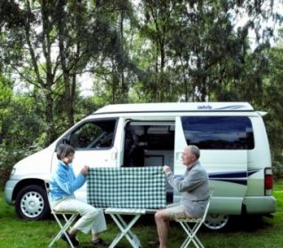 Use a Folding Camping Table for Activities
