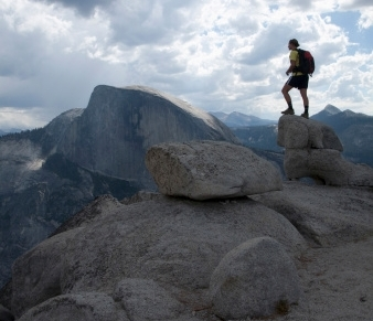 Half Dome Hike, Yosemite, California