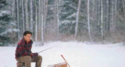 Ice Fishing, Wisconsin