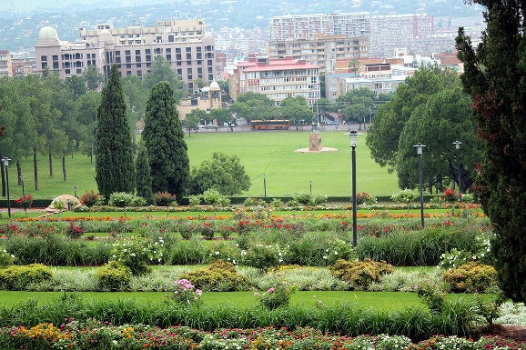 Union Buildings Gardens