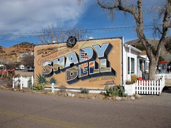 Shady Dell RV Park in Arizona