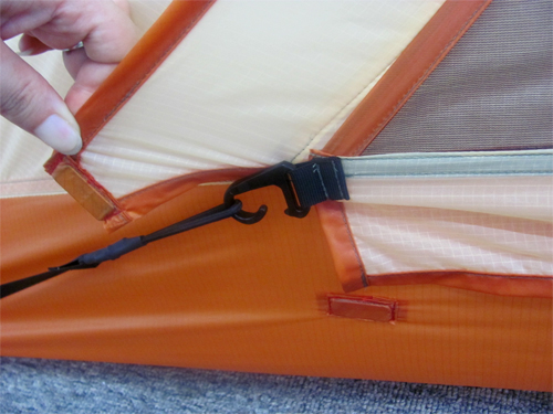 Zipper-Less Tent
