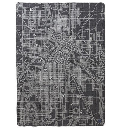 Faribault Map Blanket