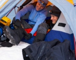 Warm and Comfy Experience Camping in Winter