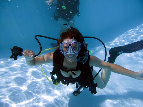 avoid wet breath during scuba diving