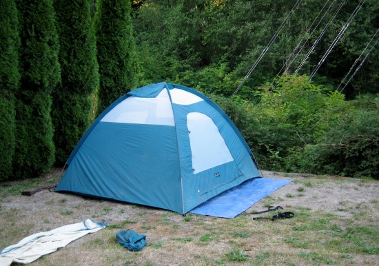 suggestions to make tent camping interesting