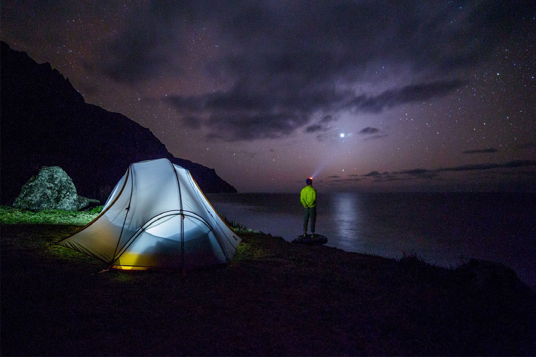 dangers to avoid during night camping