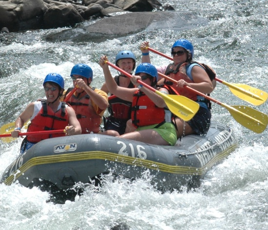 offbeat white water rafting