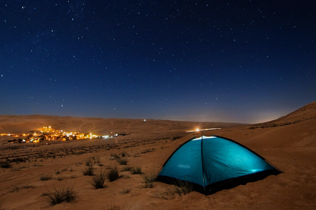 Top desert campsites in the UAE