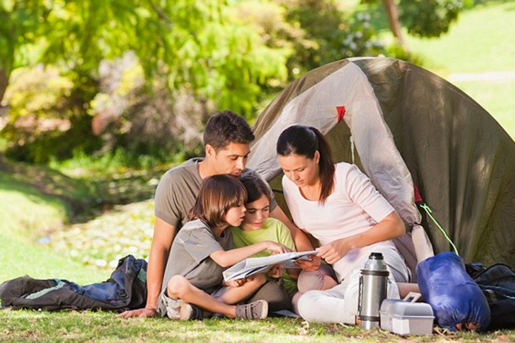 Five best campsites for family