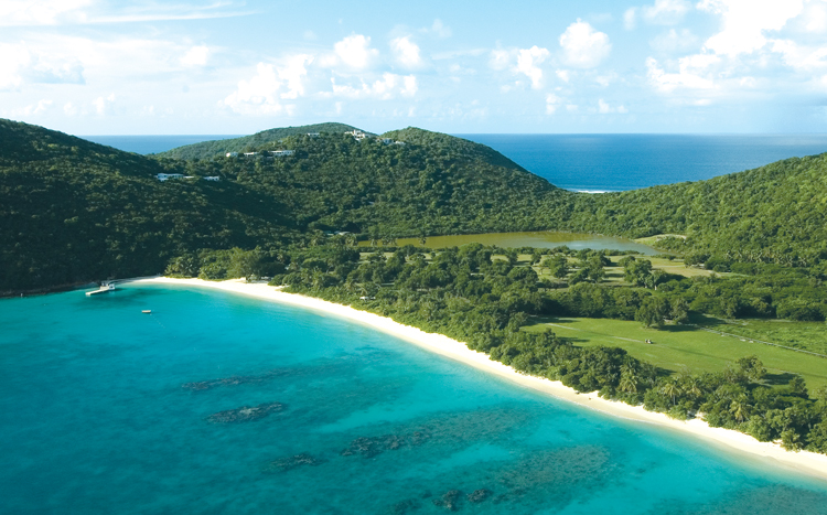 Guana Island in the British Virgin Islands