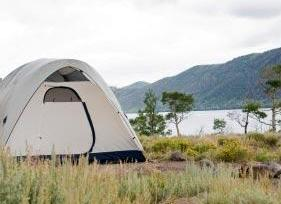 old fashioned way of frugal camping 1