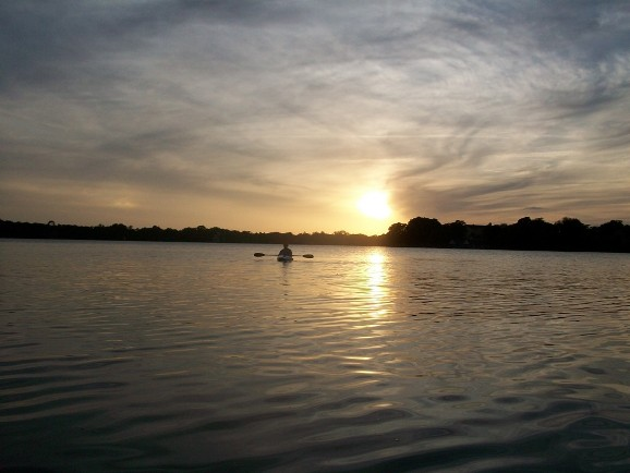 Winter Fishing - Winter Park Chain of Lakes Florida