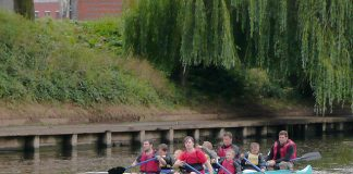 Canoeing With Children