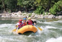 equipment for white water rafting