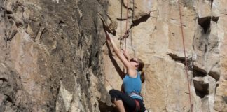 toughen skin for rock climbing