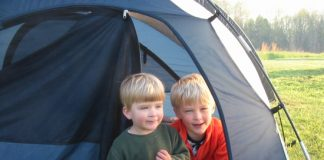 safety tips for camping with toddlers