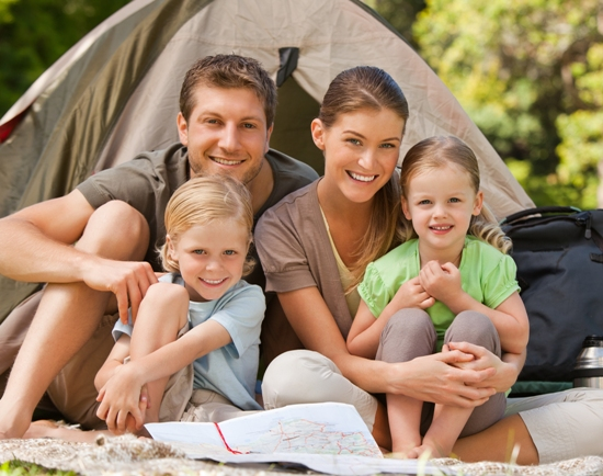 planning for a family camping trip