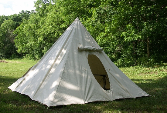 A-frame tents